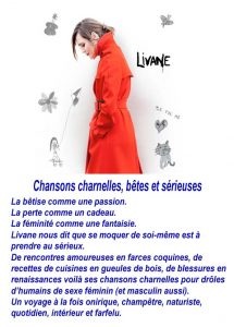 Affiche Livane Chante